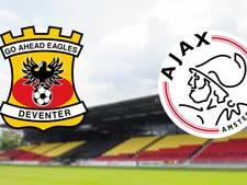 Ajax nog zonder Krul naar Deventer