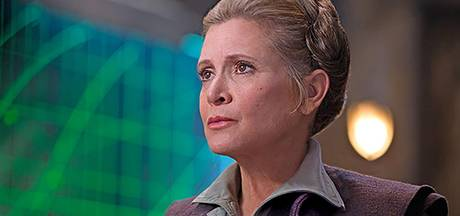 Makers Star Wars zitten in de penarie na dood Carrie Fisher