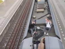Vloggers op dak van trein krijgen geen celstraf