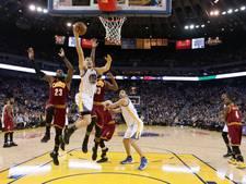 Golden State wint eindelijk weer van Cleveland Cavaliers