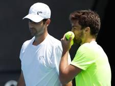 Nederlander Rojer uitgeschakeld in dubbelspel Australian Open