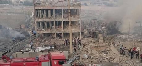 Doden en gewonden door explosie Turks politiebureau
