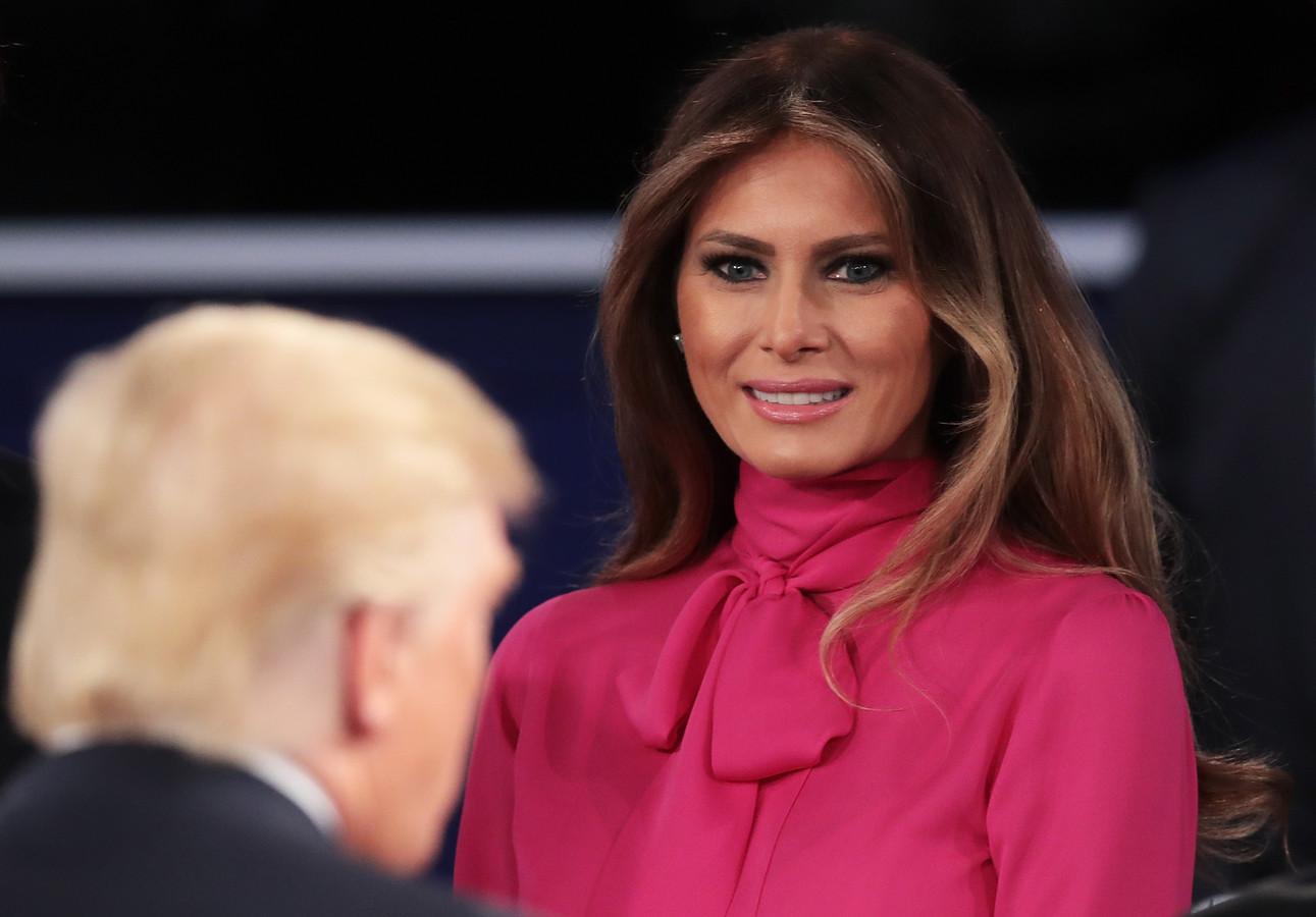 Michelle obama emotioneel over seksopmerkingen donald trump foto