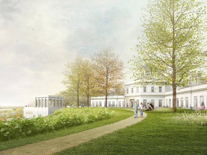 Happel Cornelisse Verhoeven en DRDH Architects gooien de boel open. En de vleugel van Frits Eschauzier gaat plat. Ondergrondse zalen moeten exposities van wereldformaat mogelijk maken.