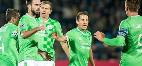 PSV scoort alleen voor rust, Guardiola thuis onklopbaar