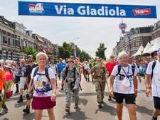Wandelaars noemen 100ste Vierdaagse 'heel zware editie'