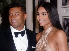 Ciara en Russell verwachten eerste kindje