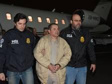 Drugsbaron El Chapo voor zeventien zaken aangeklaagd in VS