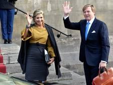 Koning en koningin houden Nieuwjaarsontvangst in Paleis op de Dam