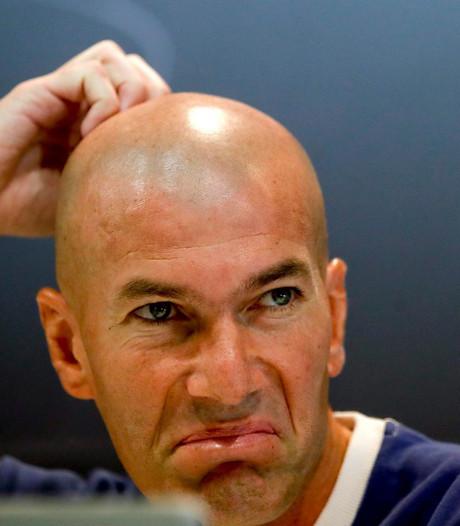 Zidane snapt weinig van boegeroep naar Ronaldo