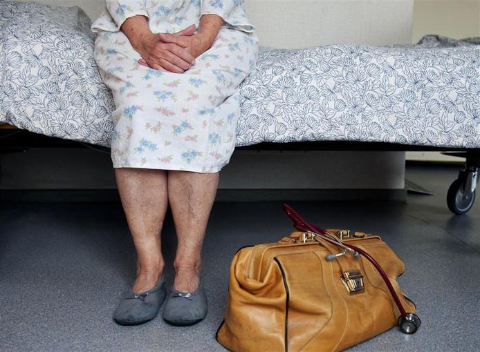De arts stelde gisteren echter geen duidelijke aanwijzingen te hebben dat de vrouw terminaal was. Foto: ANP