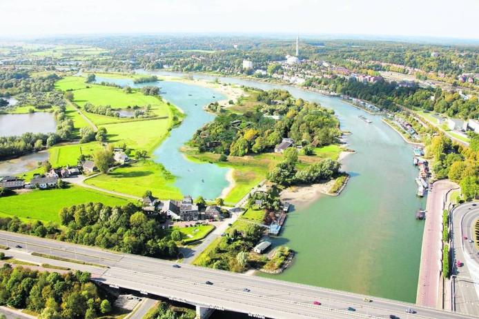 Een impressie van plan De Eilanden 2.0 voor Meinerswijk.