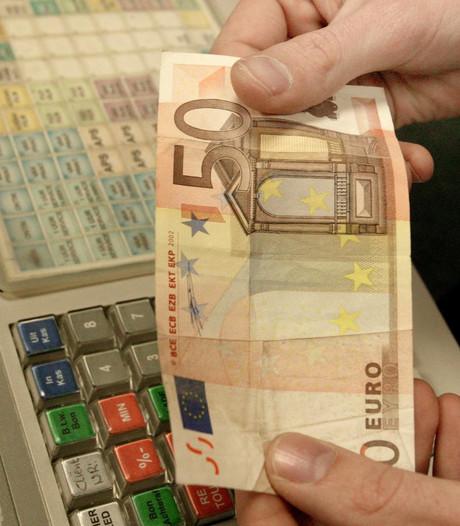 Vals geld in omloop in Meerzicht