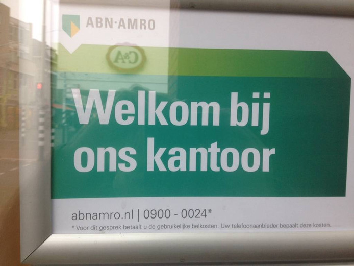 Op andere kantoren zijn klanten van ABN-Amro welkom, maar niet langer in Ulft en Aalten.