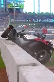 VIDEO: Flinke crash Pascal Wehrlein bij Race of Champions