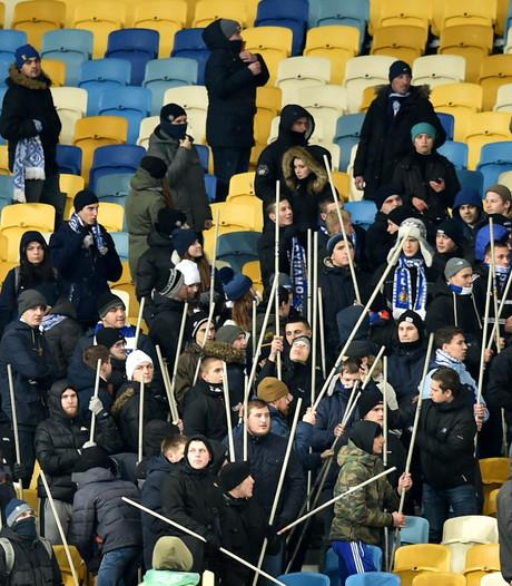 'UEFA vindt voetbalgeweld in Kiev zorgelijk'