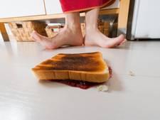Eten van de grond: de vijfsecondenregel onderuit