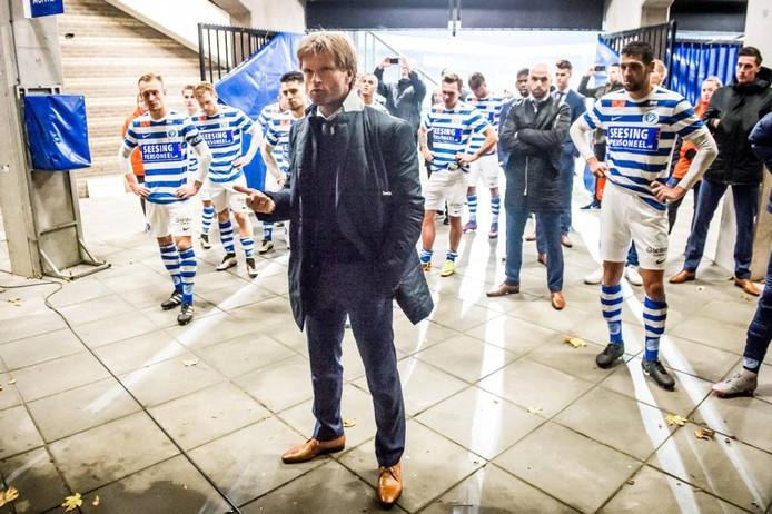 De Graafschap-trainer Jan Vreman. Foto: Lars Smook/Pro Shots