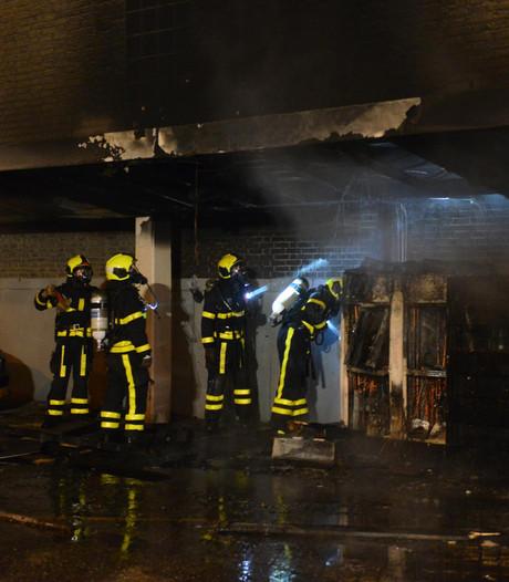 Airconditioning visrestaurant gaat in vlammen op