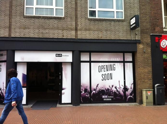 De winkel van Hifi-Klubben in Nijmegen gaat zaterdag officieel open. Foto DG