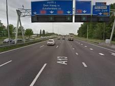 A13 afgesloten na klemrijden autodief