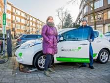 Idealistisch rijden door elektrische auto te delen