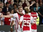 Scorende debutanten niet in wedstrijdselectie van Ajax