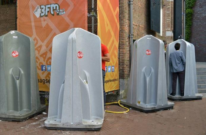 De organisatie van de Vierdaagsefeesten wil volgend jaar nog meer toiletten plaatsen.