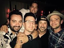 Justin Timberlake en NSYNC weer even samen