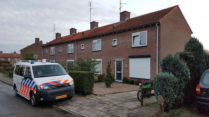 De woning aan de Lijsterstraat in Rheden.