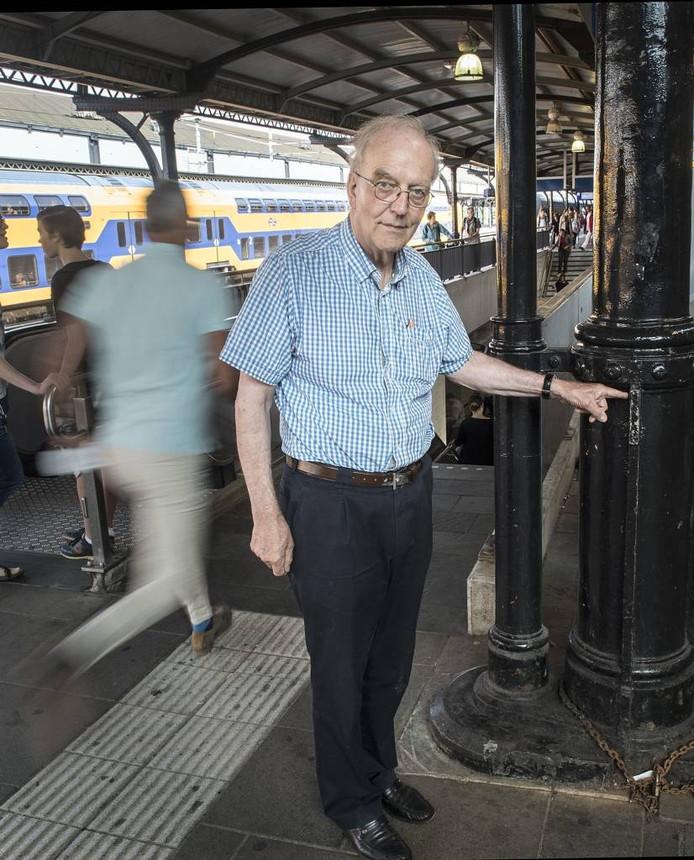 Hans van den Berg gaat alsnog aangifte doen tegen de treinrenner.