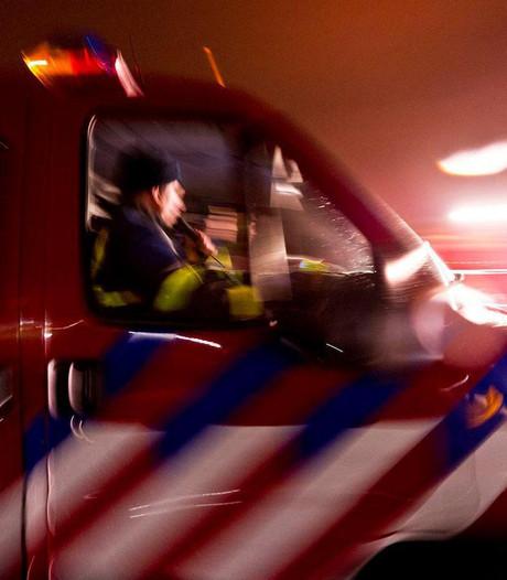 Brandweer naar Pompekliniek vanwege brandende kleding