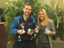 Eric Zondag uit Wamel is Gelders kampioen tafeltennis