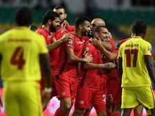 Doelpuntrijke winst Tunesië doet Algerije de das om