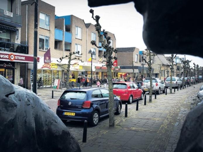 De Hogestraat in Druten.