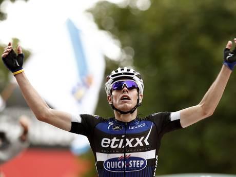 David de la Cruz pakt ritzege en leiderstrui in Vuelta