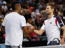 Publiekslieveling Kyrgios uitgeschakeld op Australian Open