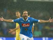 Higuain voor 90 miljoen euro naar Juventus