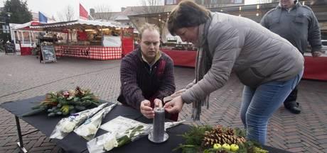 Collega's markt in Eibergen staan stil bij plotseling overlijden groenteman Herman Westerveld