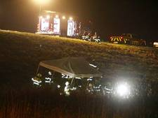 Dode door auto-ongeval op snelweg bij Veghel