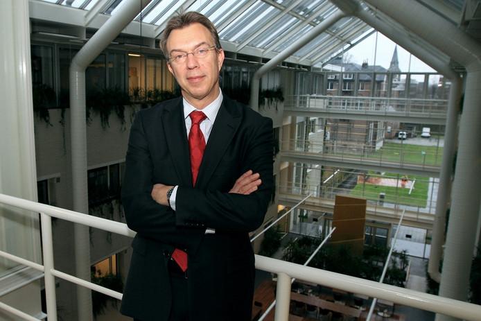 Martin Kropff, foto tijdens afscheid als rector magnificus van Wageningen Universiteit.