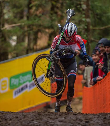 Vos sterkste in wereldbekercross in Hoogerheide