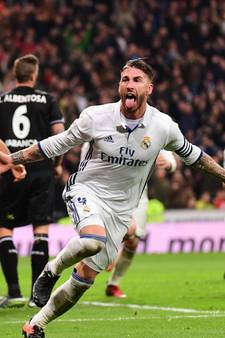 VIDEO: Sergio Ramos redt Real opnieuw in blessuretijd
