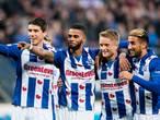 Sterk Heerenveen wint en houdt aansluiting met top