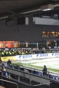 Gewonden en aanhoudingen bij supportersrellen FC Eindhoven - De Graafschap
