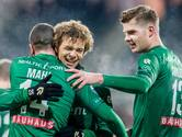 Groningen laat hopeloos Heracles alle hoeken van het veld zien