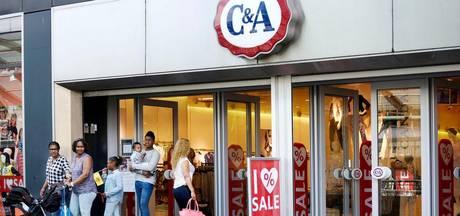 'C&A sluit vier filialen vanwege slechte resultaten'