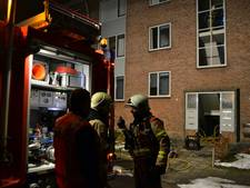 Deel flat ontruimd vanwege woningbrand in Huissen