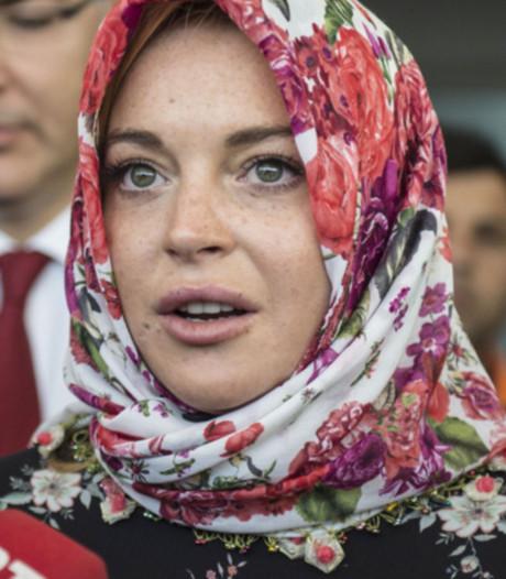 Moslims feliciteren massaal 'bekeerde' Lindsay Lohan