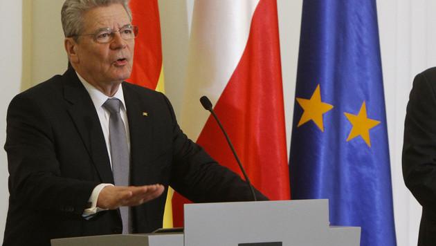 Bondspresident Gauck.